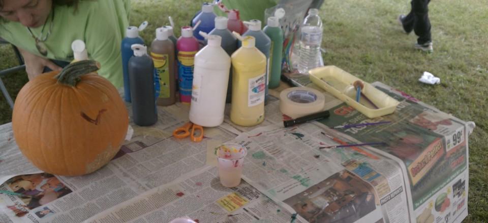 Paint A PUMPKIN at The Fall Festival
