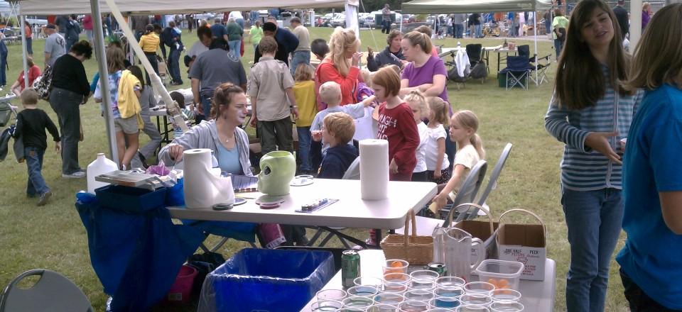 Face Painting at  the 17th Annual Fall Festival