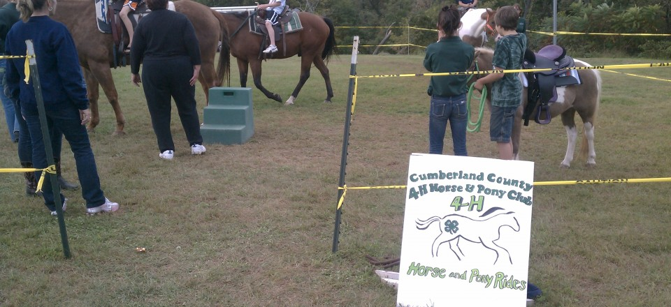 4H Club at the  Middlesex Township 17th Annual Fall Festival!!!!!